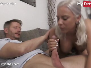 MyDirtyHobby - Superb busty blonde does say no to first casting