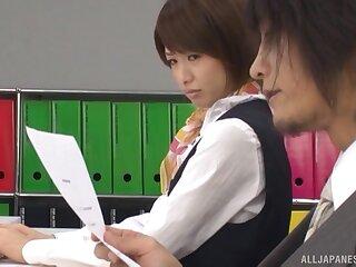 Sexy Japanese punctiliousness Nanami Kawakami moans via uninhibited having it away