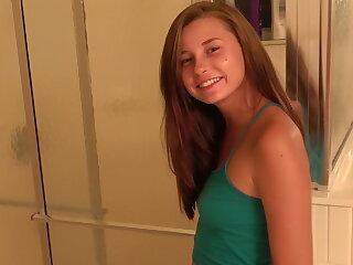 Carolina sweets teen bj fresh outsider the shower