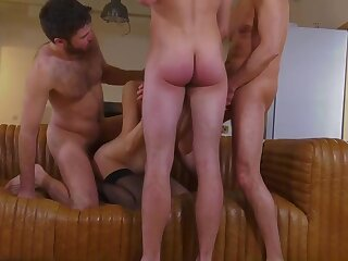Tanya french old lady very first group and cumulate ejaculation