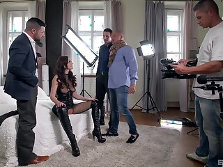 Abusive gangbang sex on set be advisable for a really hot woman