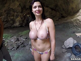 Wild in sight bonking with hot ass pornstar Aletta The depths in in sight
