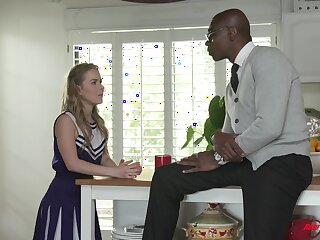 Stepdaughter gets quality time with her stepdad and that girl can fuck